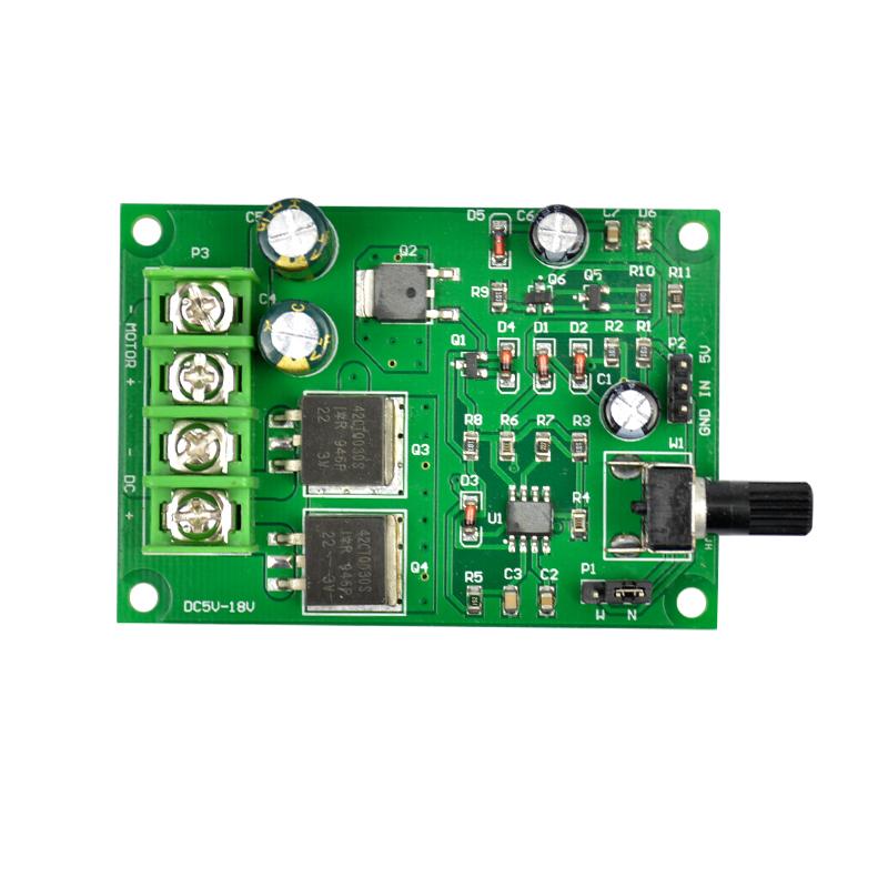 DC Motor Speed Governor Controller 5V 6V 9V 12V 15V 18V High Power