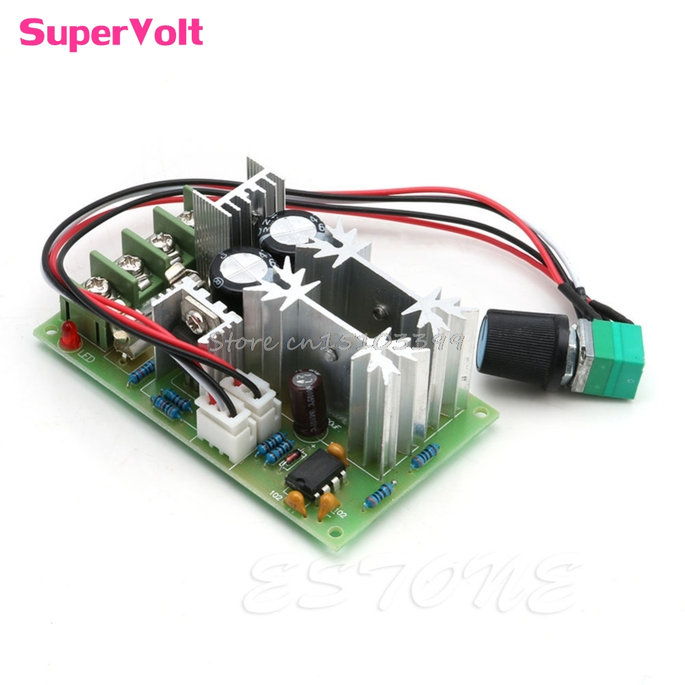 20A Universal DC10-60V PWM HHO RC Motor Speed Regulator Controller Switch New #G205M# Best Quality