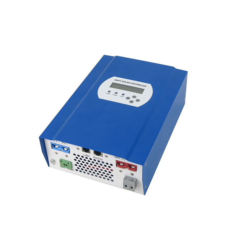MAYLAR@ MPPT charge mode 40A 12v/24v/48v charger controller LAN port conversation efficiency upto 99% 2 years warranty