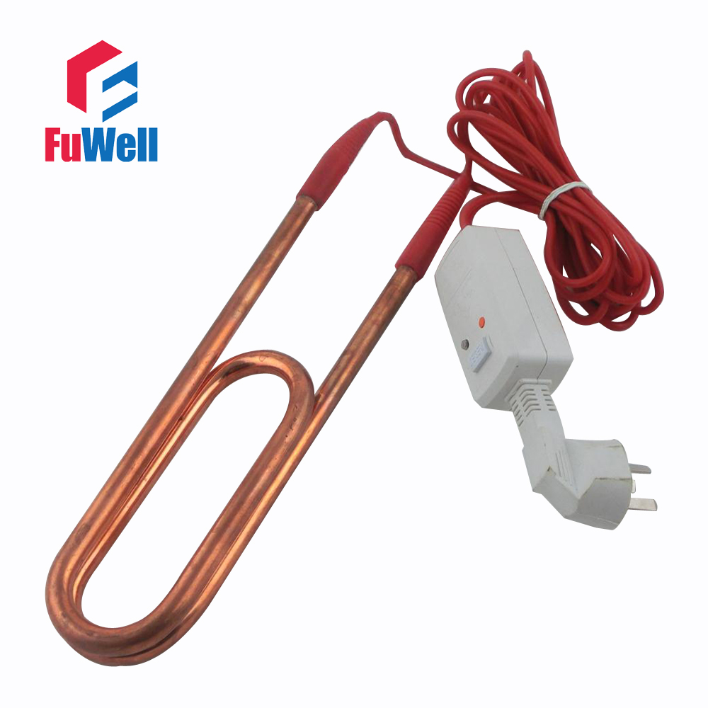 Red Copper & Stainless Steel Heating Element Electric Heating Tube Heater for Swimming Pool or Bathtub