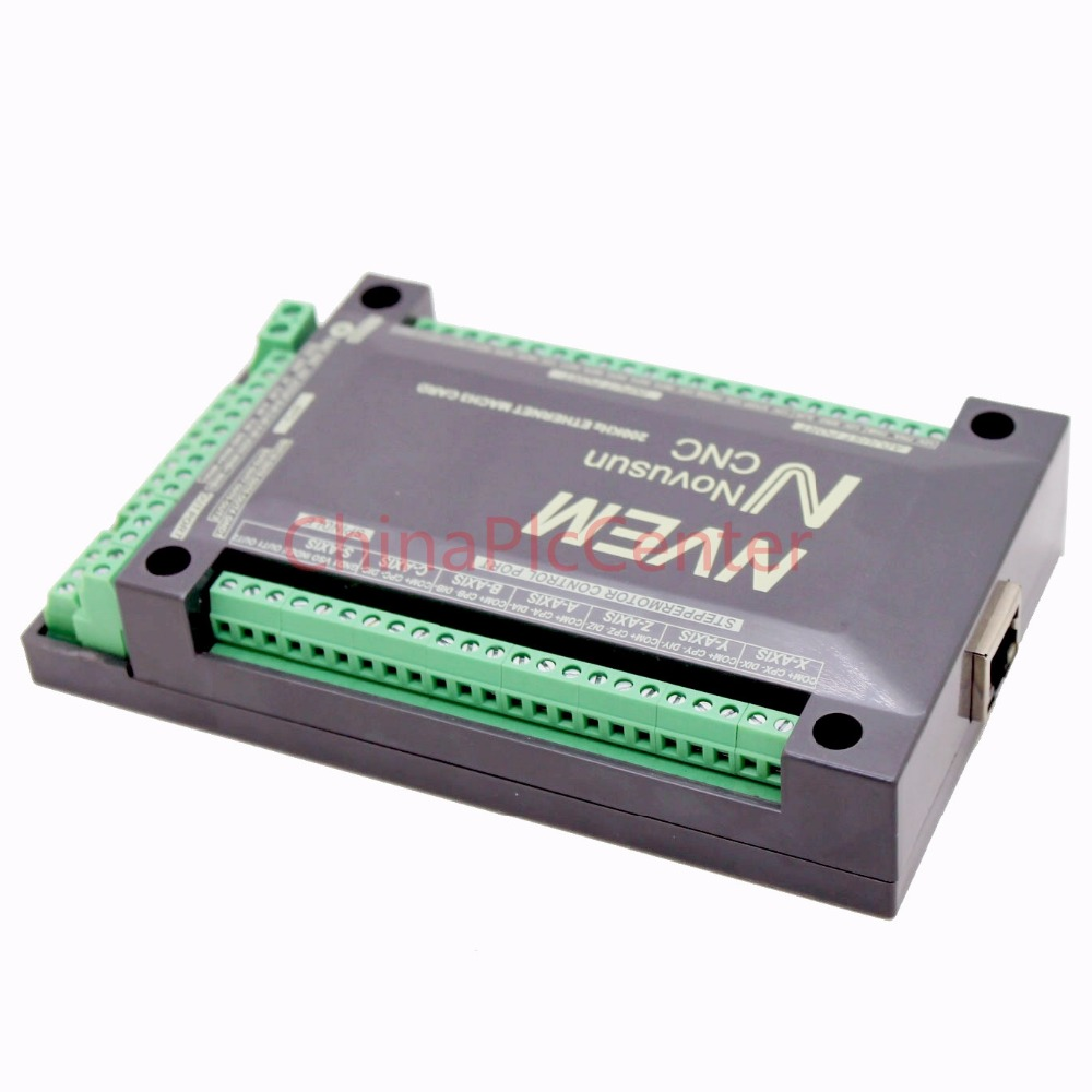 NVEM CNC Controller 200KHZ Ethernet MACH3 Motion Control Card for Stepper Motor 6-Axis