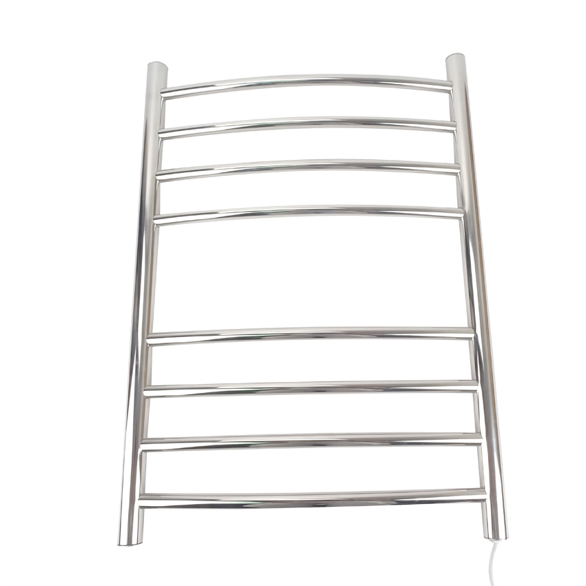 1pc Heated Towel Rail Holder Bathroom AccessoriesTowel Rack Stainless Steel ElectricTowel Warmer Towel Dryer 70w, high quality