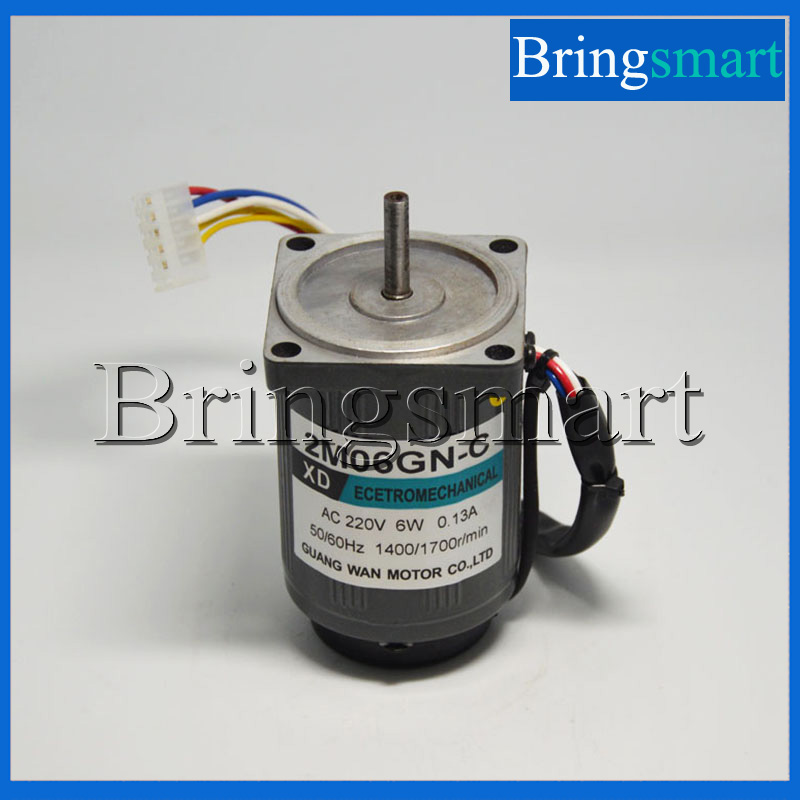 Bringsmart 220V AC Motor Single-Phase Motor 6W Slow Speed Reversible Mini Speed Regulation High Torque Micro Motor