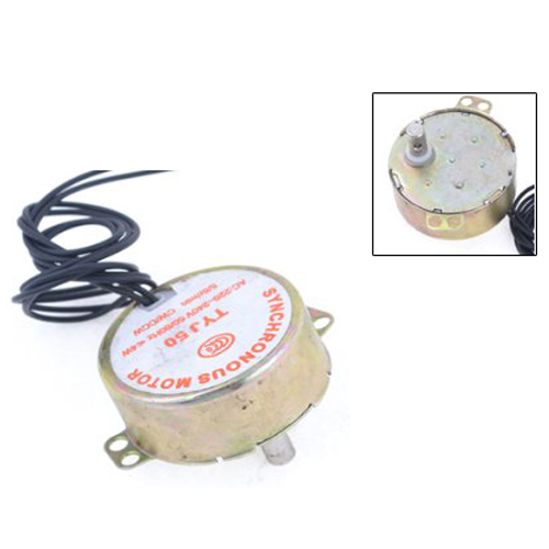 AC 220V-240V 5/6RPM 4W 50/CCW 7mm Shaft Dia Fan Synchronous Motor