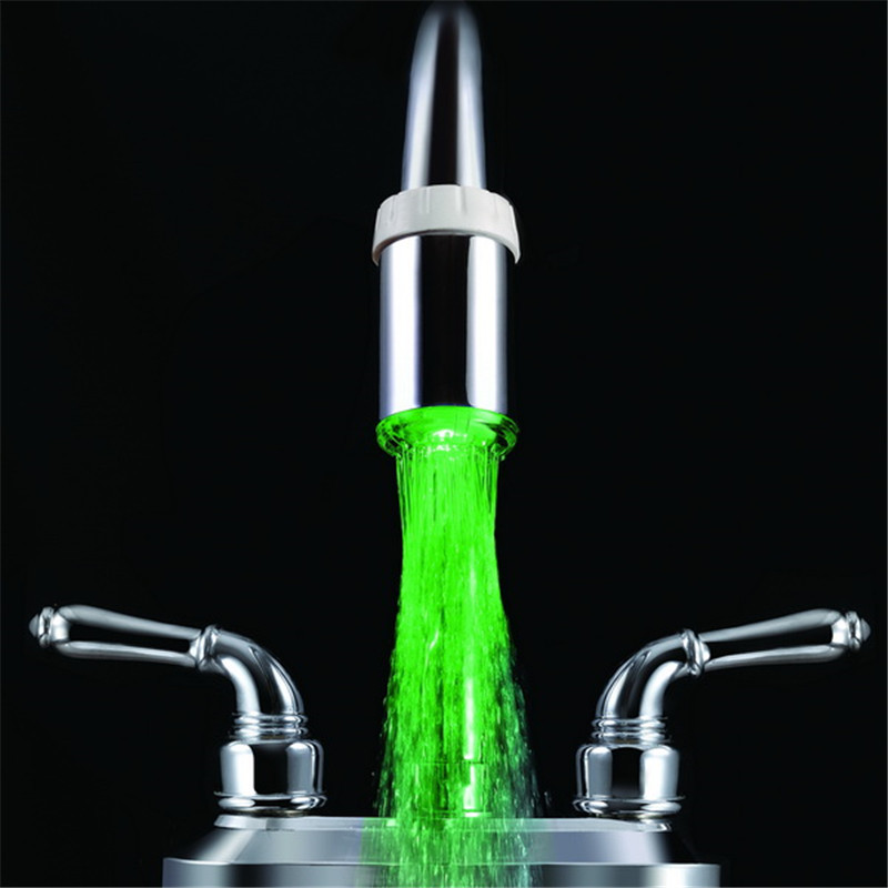 Single green color faucet colors with adaptors without package