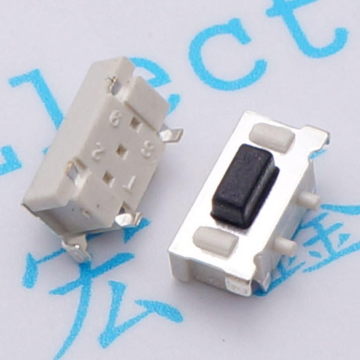 500pcs Tact Switch 3*6mm switch 2pin SMD push-button switch Micro button switch keyswitch Horizontal for tablet PC/MP3*MP4