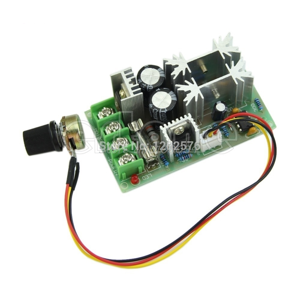 Universal DC10-60V PWM HHO RC Motor Speed Regulator Controller Switch 20A #S018Y# High Quality