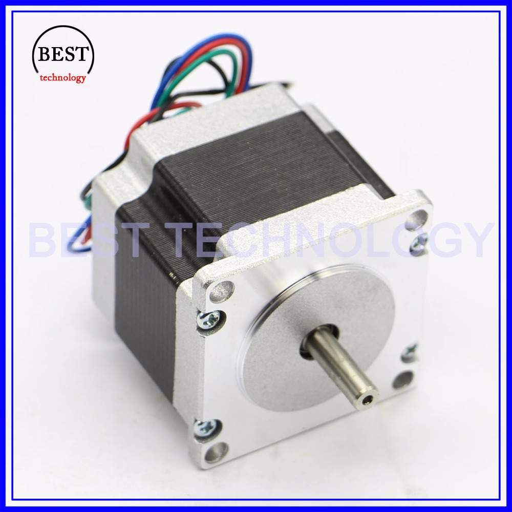 NEMA23 stepper motor 41mm 2.8A 0.55N.m 78Oz-in Nema 23 4wires Hybird stepper motor CNC stepping motor For CNC machine 3D printer