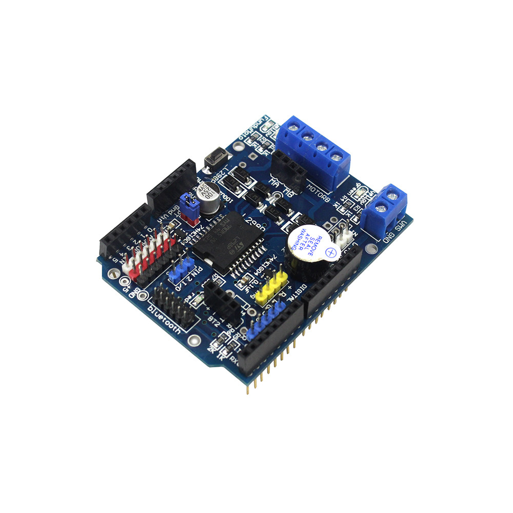 Smart Electronics Stepper DC Motor Driver Shield L298P Driver Expansion Development Board for arduino Diy Kit