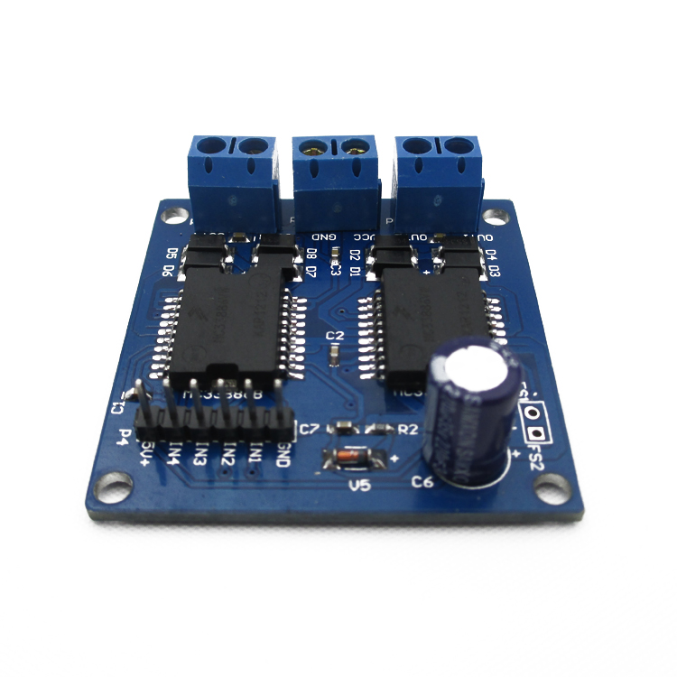 MC 33886 5-12V 5A double motor driver module Large current low impedance For Upright smart car