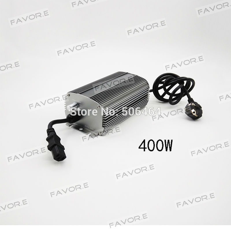 MH/HPS 400W dimmable electronic ballast for Hydroponics plant grow system EU plug