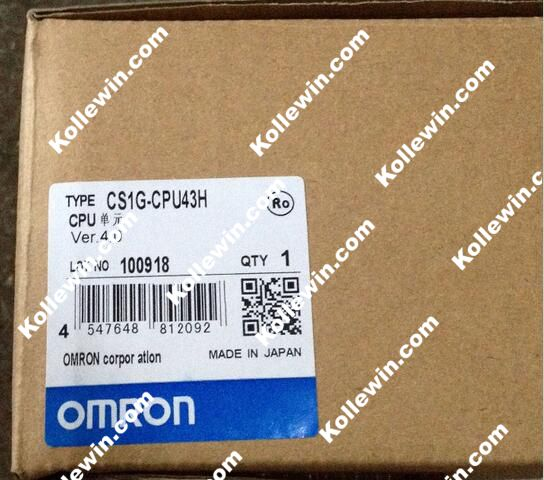 CS1G-CPU43H PLC Programmable Logic Controller Module , CS1GCPU43H NEW IN BOX .