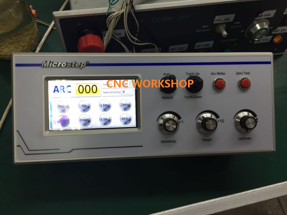 Automatic Arc Voltage Plasma Torch Height Controller For