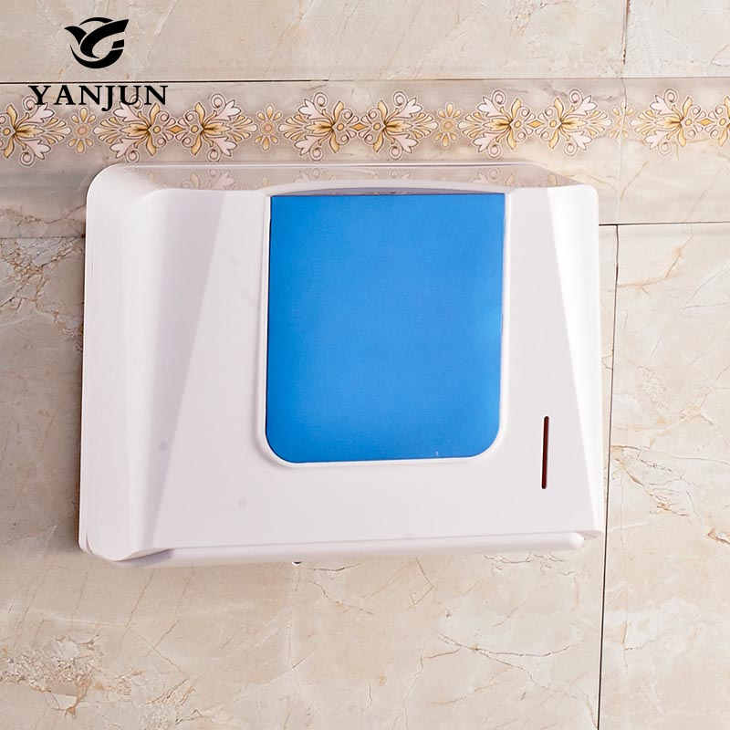Yanjun Wall Mounted Anti-drop Toilet Paper Holder WC Paper Towel Holder Tissue Dispenser  Bathroom Accessories YJ-8620