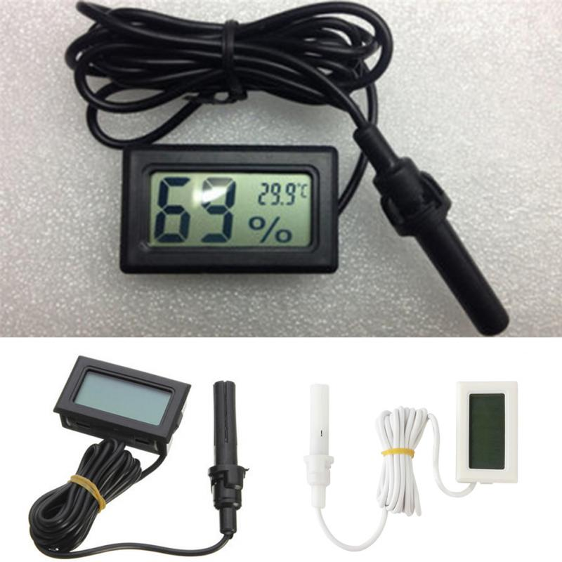 2017 Professional Portable Digital Display Mini LCD Hygrometer Thermometer Weather Station Indoor kitchen Termometro