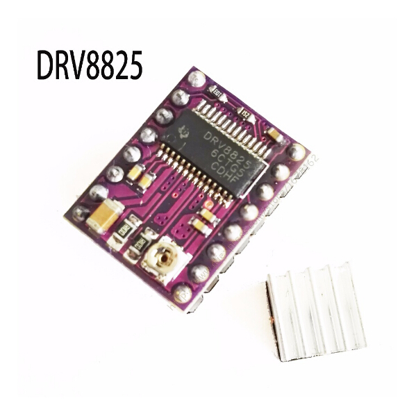 StepStick DRV8825 Stepper Motor Driver Carrier Reprap 4-layer PCB RAMPS replace A4988 for 3D Printer