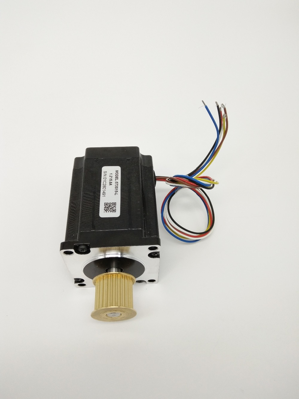 573S15L  - 1.5 N.m (212 Oz-In) 3 Phase NEMA 23 Stepper Motor with 3ND583 Driver