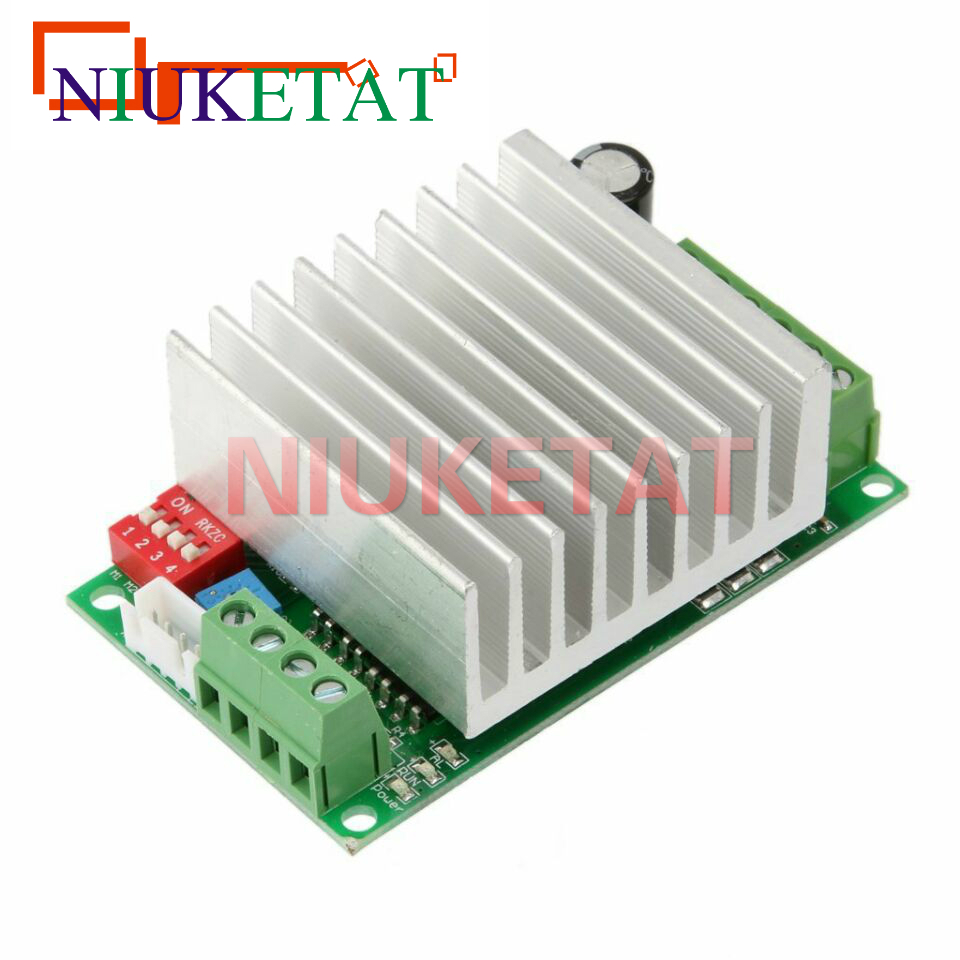 1pcs TB6600 4.5A Stepper motor drive controller Engraving machine stepper motor driver board single axis controller TB6600 New