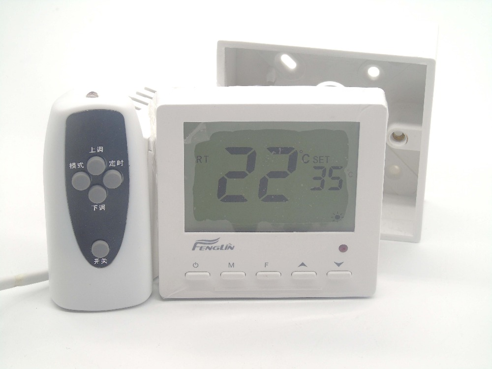 Gas boiler Remote control floor heating thermostat with Thermal Electric Actuator