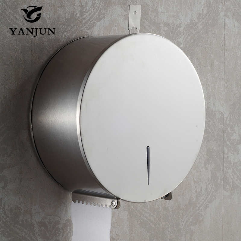 Yanjun High Quality Wall Mounted  Toilet  Paper Jumbo Roll Holder  Paper Towel Dispenser  Bathroom Accessories YJ-8621