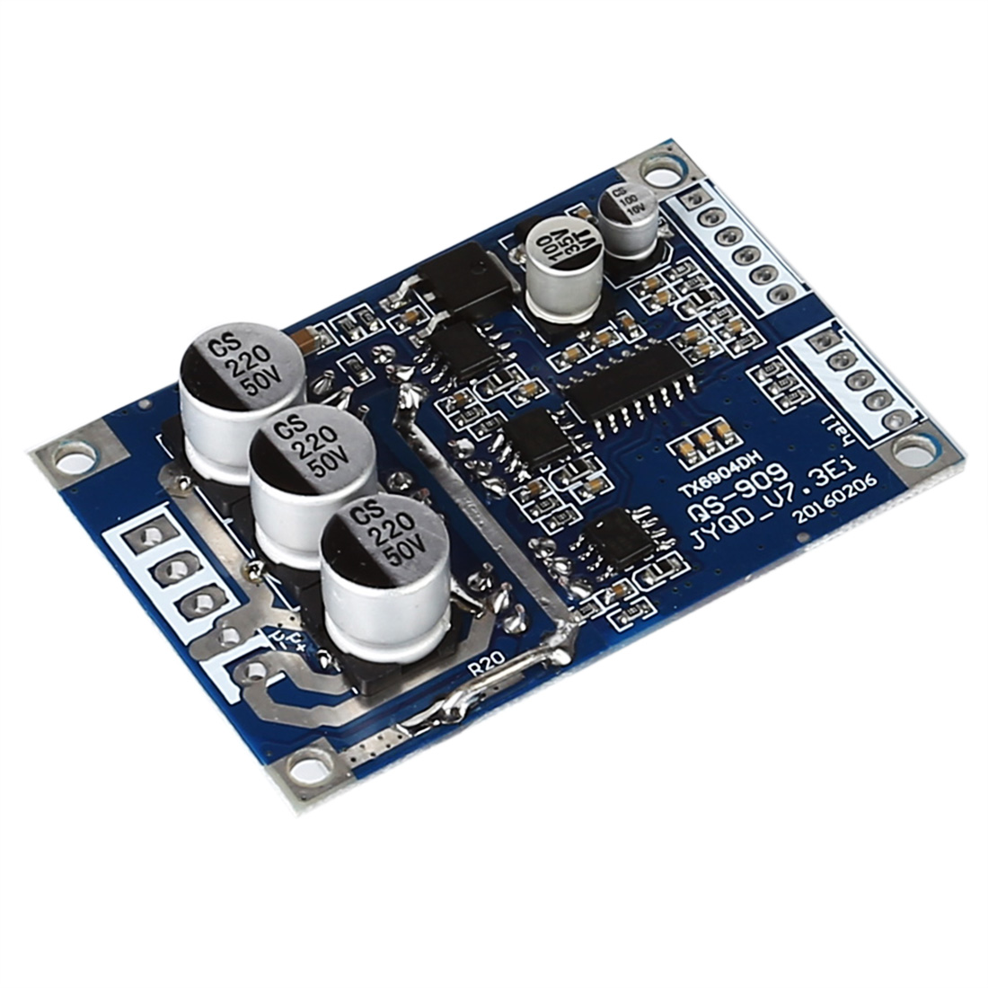 Bulk Price DC 12V-36V 500W Brushless Motor Controller Hall Motor Balanced Car Driver Board