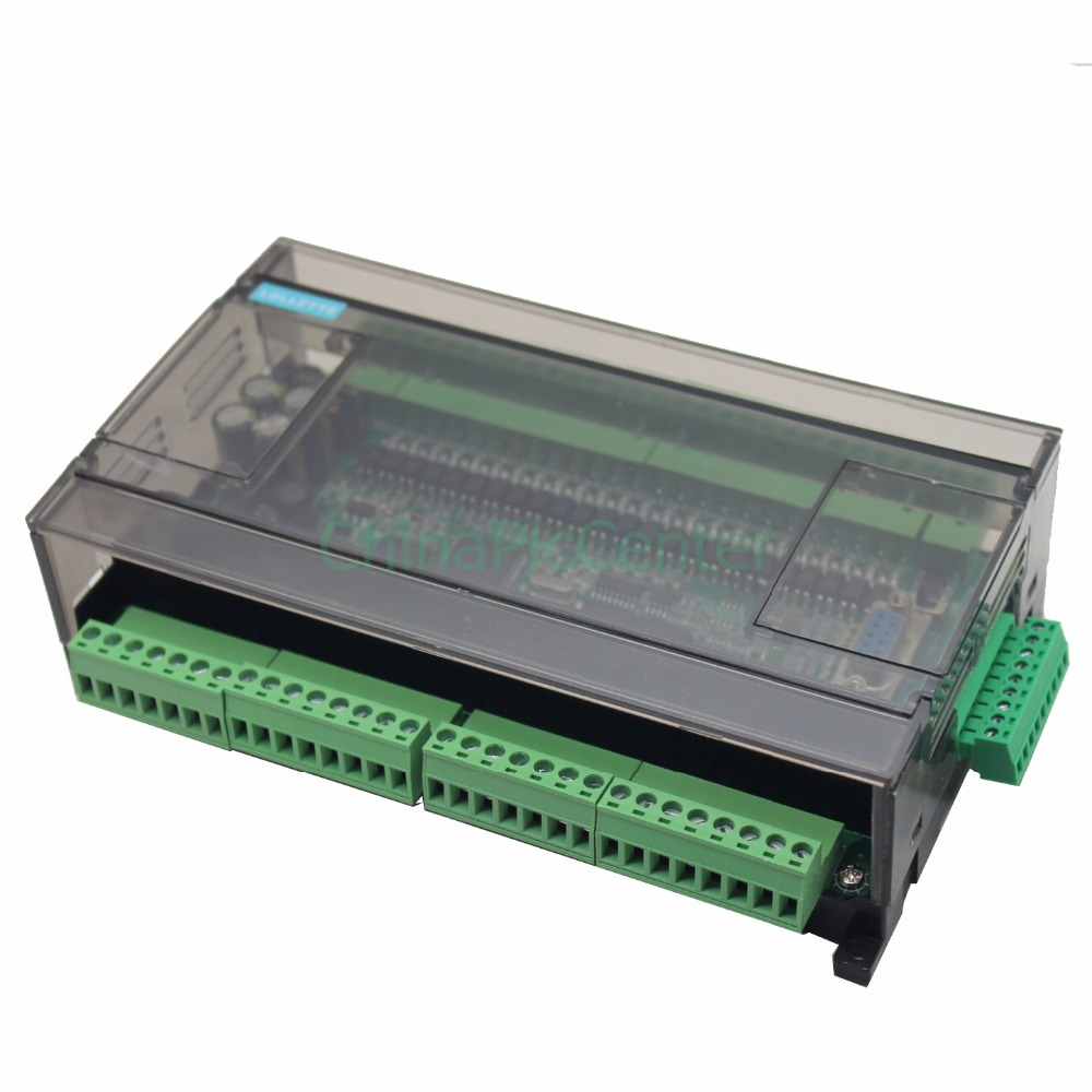 LE3U FX3U 48MR RS485 RTC (real time clock) 24 Input 24 Relay output 6 analog input 2 analog output plc controller
