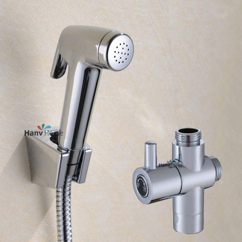 Superb Bathroom Toilet Hand Held Diaper Sprayer Shower Bidet Spray Inzonedesignstudio Interior Chair Design Inzonedesignstudiocom