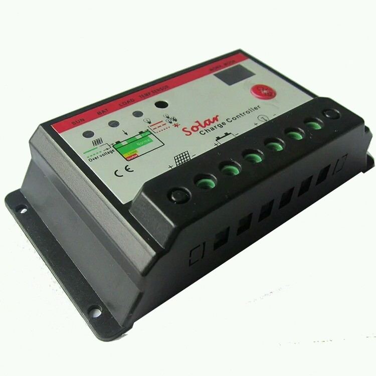 Solar system controller 10A 12V/24V double digital tube display solar regulator for solar panel system use battery controller