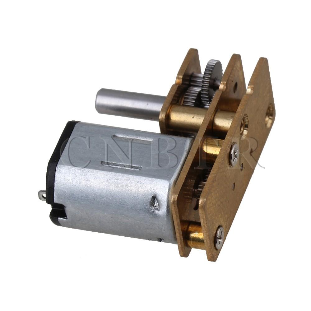 10mm GM12-N20 Model DC 12V 20RPM Torque Gearbox Micro Gear Box Motor