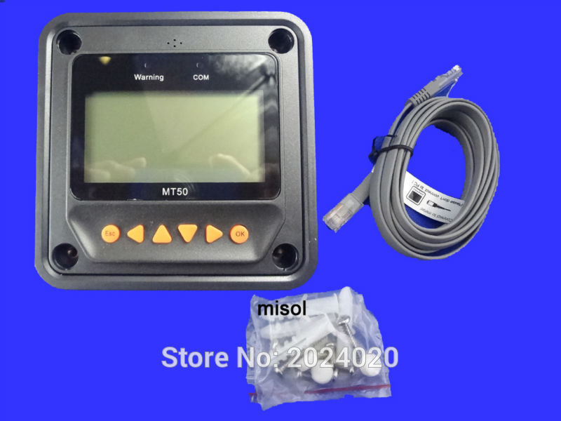 Tracer MPPT Solar regulator 40A with remote meter, 12/24v, Solar Charge Controller 40A, NEW