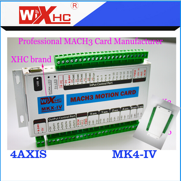 Mach3 usb port cnc controller card speed of 2000KHZ