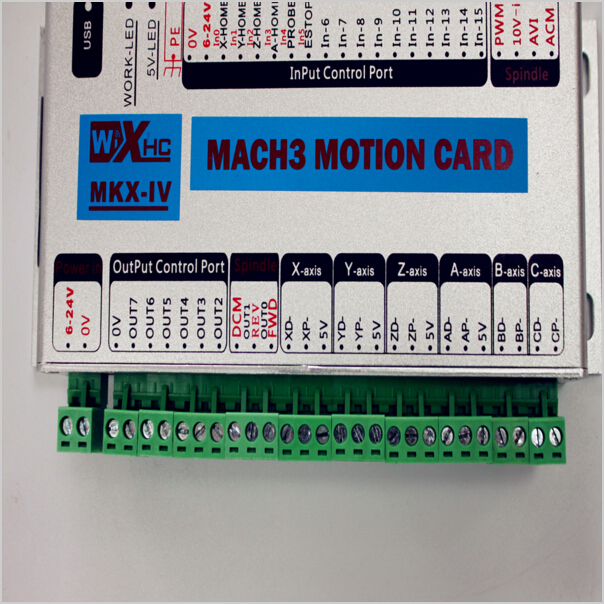 More fast and stable Mach3 usb cnc control card to control 3 axis