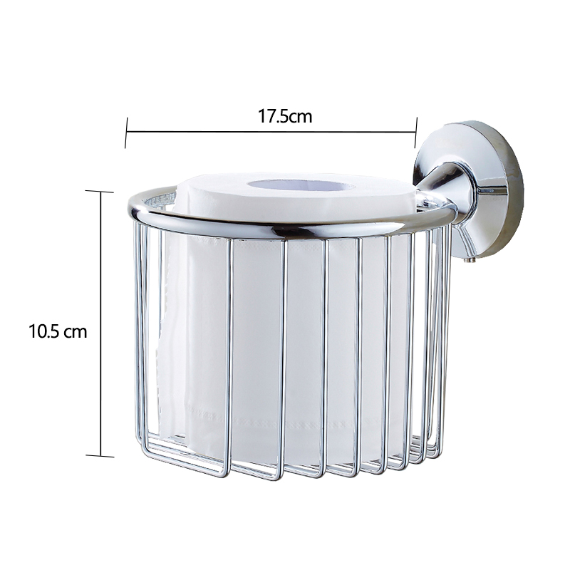jooe New bathroom accessories  Stainless Steel toilet paper holder wall mounted porta papel higienico porte papier toilette