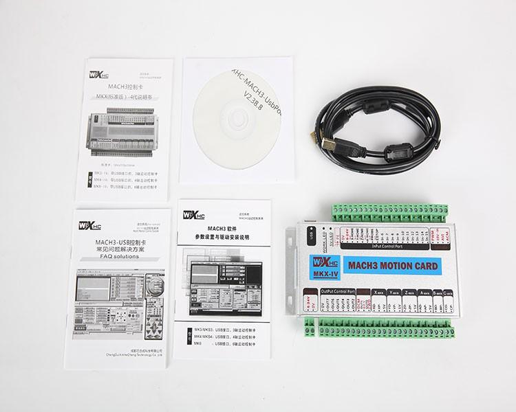 6axis mk6USB Port CNC 3 axis MACH3 USB Smooth Stepper