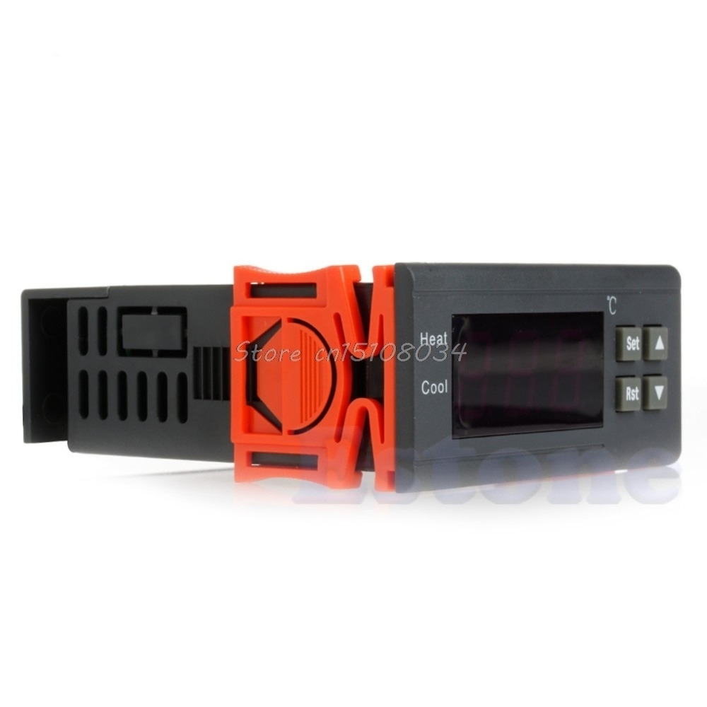 STC-2000 220V Digital Temperature Controller Thermocouple -55~120 with Sensor #S018Y# High Quality