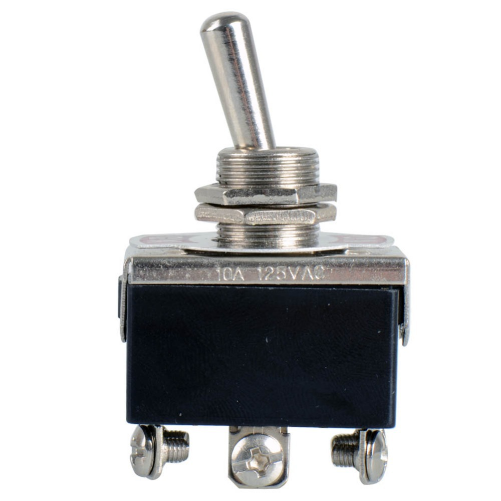 1 Piece Black New  6-Pin Toggle DPDT ON-OFF-ON Switch 15A 250V Mini Switches VE066 P0.4