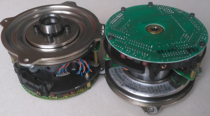 USED 100% TESTED ORIGINAL ENCODER ER-FC-2048D