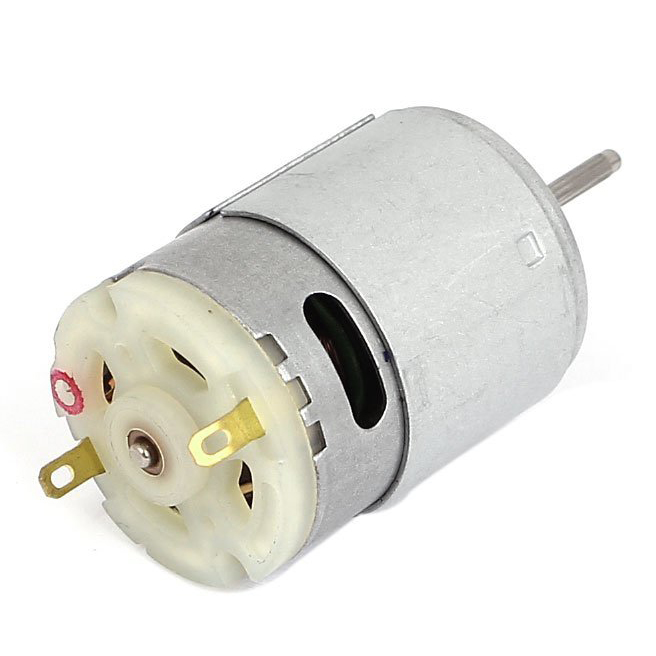 Hot sale7100 RPM DC 9V 1.5A 61.2g.cm Micro Motor for Cars DIY Hobbies Silver