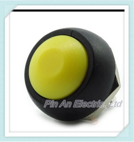 100PCS PBS-33b 12mm, no lock switch Small button switch waterproof switch since the reset