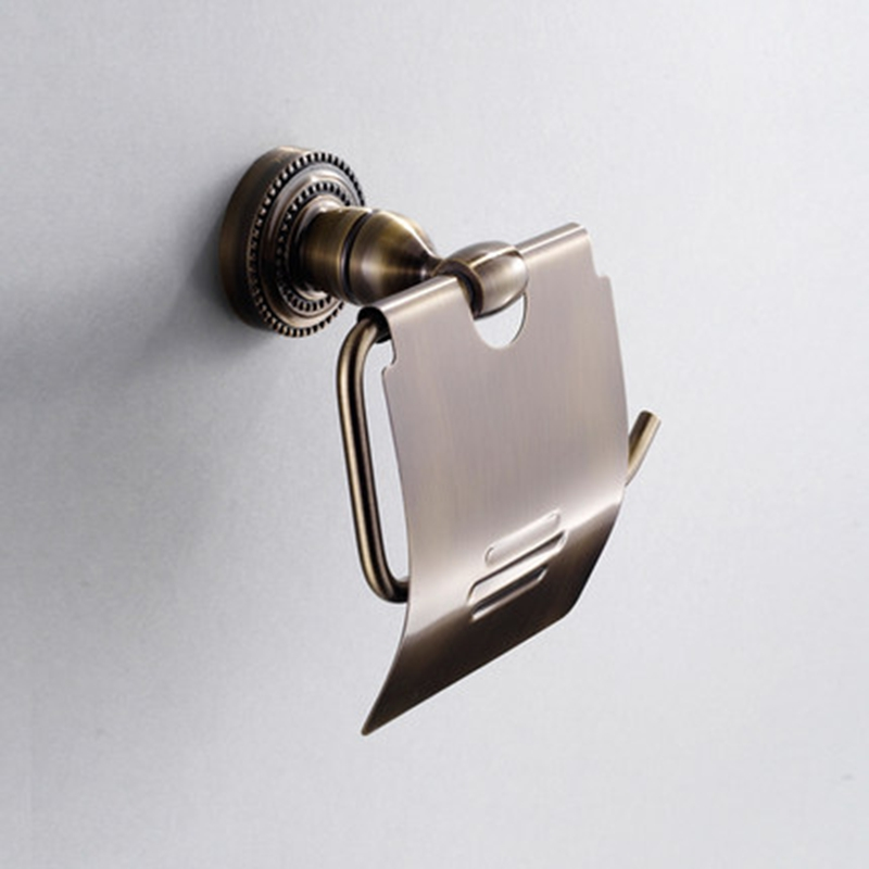 Xogolo Wholesale And Retail Copper Antique Wall Mounted Bathroom Toilet Paper Holder Roll Holder Accessories