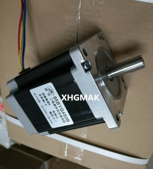 10pcs/lot nema 34 stepper motor 12.7mm shaft 86BYGH450B-06D-15J stepper motor/engraving machine steppering motor for CNC machine