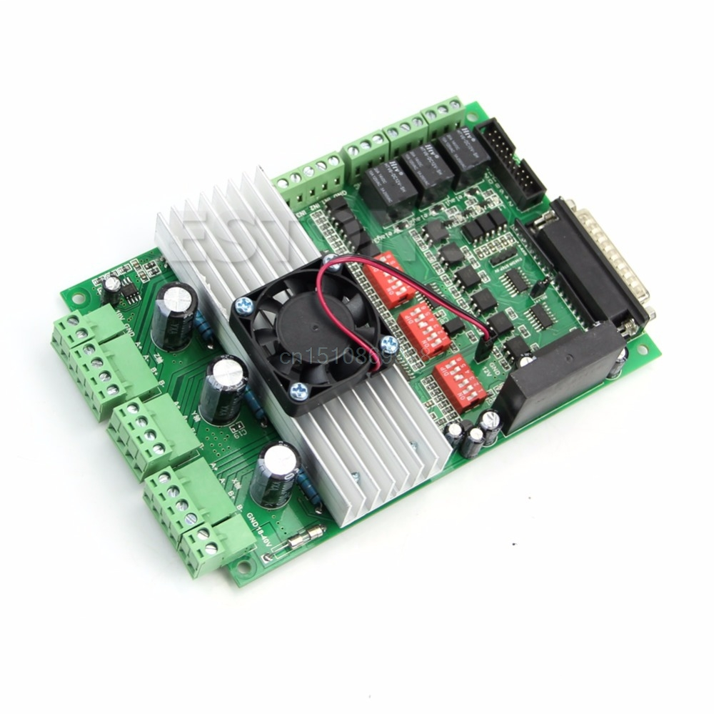 New CNC 3 axis TB6600 Stepper Motor Driver Board 4.5A/36V For Engraving Machine