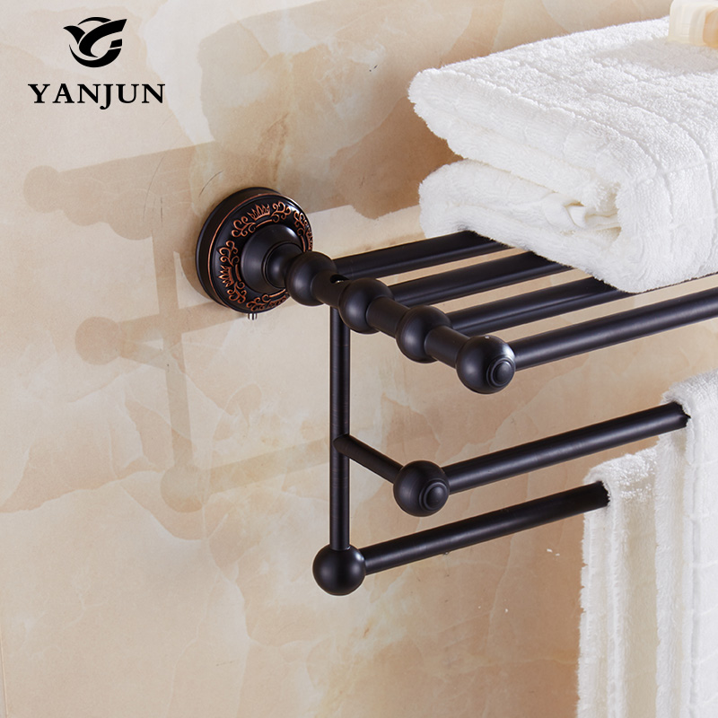 YANJUN High Quality  Brass Towel Racks Bathroom Accessories Christmas Decorations For Home YJ-7860