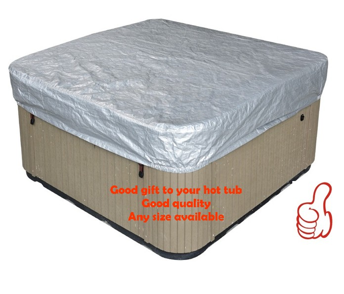 hot tub cover guard& cap,spa bag 231cmx231cmx30cm  fits dynasty,arctic,vita,master spa