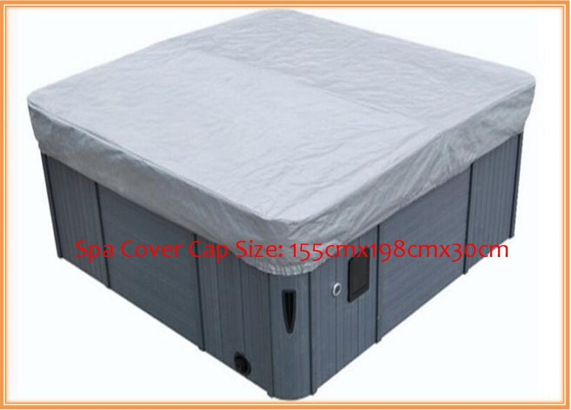 hot tub cover guard& cap,spa bag 155cmx198cmx30cm  fits dynasty,arctic,vita,master spa