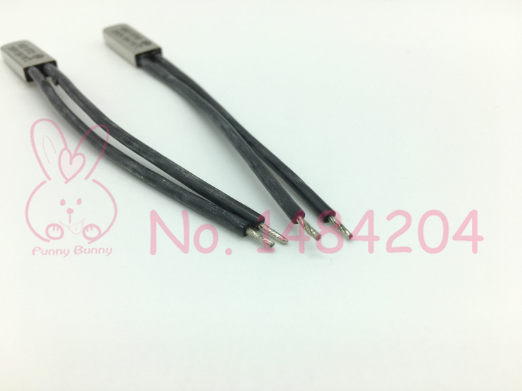 Thermal Protector KSD9700 20 25 30 35 40 45 50 ~ 65 Degree Celsius Temperature Switch 250V5A Normally Open Thermostat N.O. 5 PCS