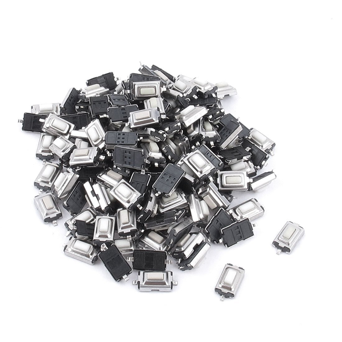 1000pcs Touch Micro Switch 3X6X2.5MM 3*6*2.5 SMD White Button Head