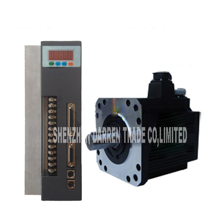 1pc 380V 180ST-M27020 AC servo machine 5.7KW 2000 / rpm 25-pin parallel connector servo Motor