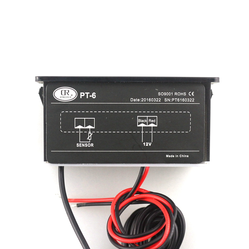 PT-6 -40~110C Car Digital Temperature Meter 12V Thermometer with 2m NTC Sensor