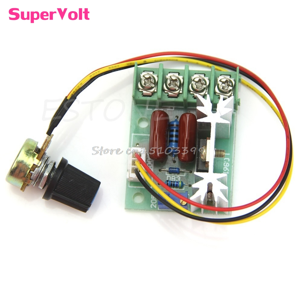 2000W High Power Thyristor Electronic Volt Regulator Speed Controller Governor #G205M# Best Quality
